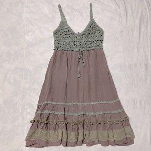 Ya Los Angeles Boho Midi Dress